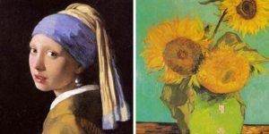 Тест на внимательность: ищем отличия в шедеврах живописи!